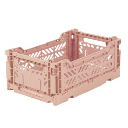 Caisse pliable Rose - Mini
