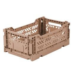 Caisse pliable Taupe - Mini