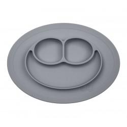 Assiette ventouse grise