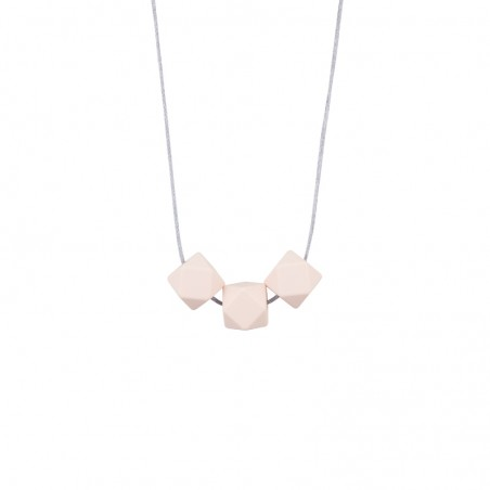 Collier simple dimple rose...