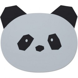 Set de table en silicone Panda