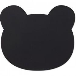 Set de table en silicone noir