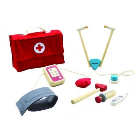 Ma valise de docteur en bois