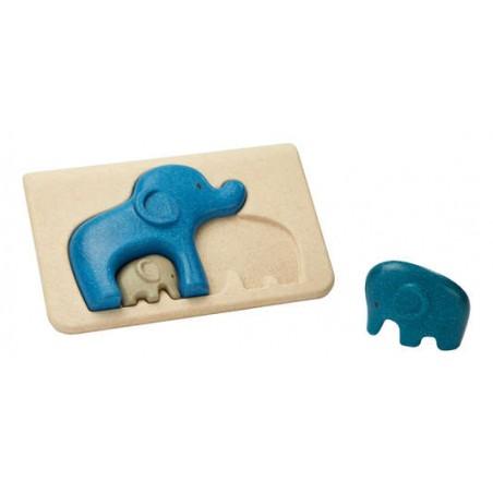 Mon 1er puzzle éléphant