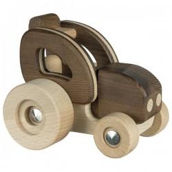 Tracteur bois naturel par Goki