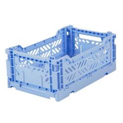 Caisse pliable Bleu - Mini