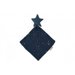 Doudou étoile bleu