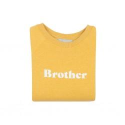 Pull Brother jaune