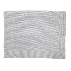 Couverture tricotée laine...