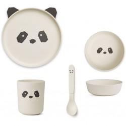 Box repas Panda en bambou