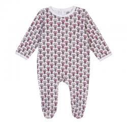 Pyjama imprimé éléphant rose