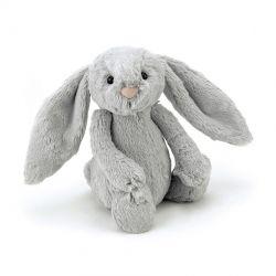 Lapin Bashful Petit Gris 18 cm
