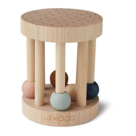 Hochet en bois avec perles