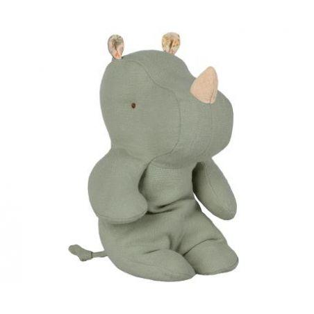 Doudou rhinocéros Vert