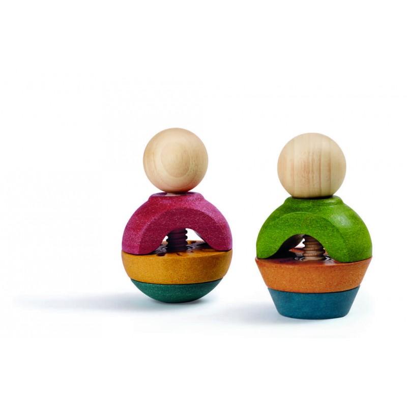 Formes à visser en bois