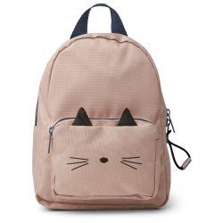Petit sac à dos chat rose