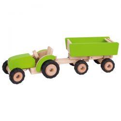 Tracteur avec remorque