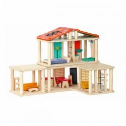 Maison modulable en bois