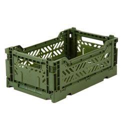 Caisse pliable Kaki - Mini