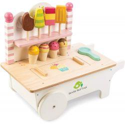 Chariot de crème glacé
