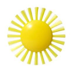 Jouet pour le bain soleil
