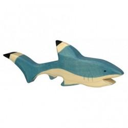 Requin en bois