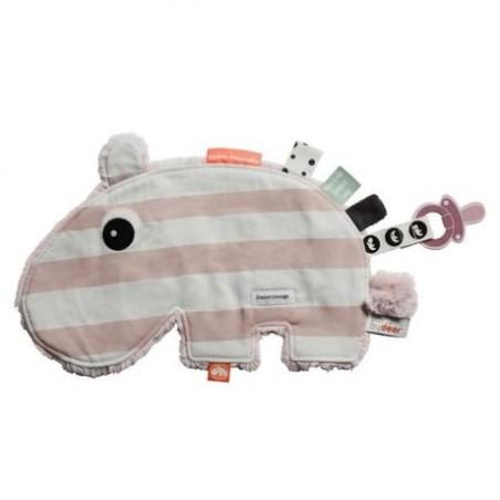 Doudou Hippo rose