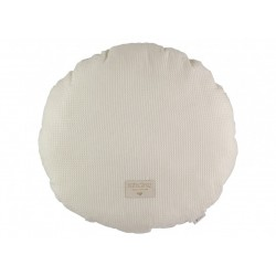 Coussin rond Naturel
