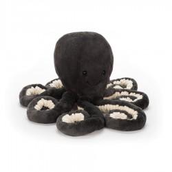 Bébé pieuvre Noir 14 cm