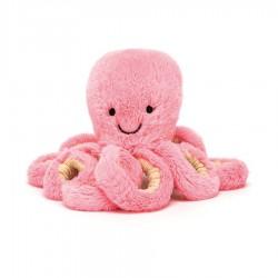 Bébé pieuvre rose 14 cm