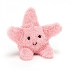 Petite étoile de mer rose