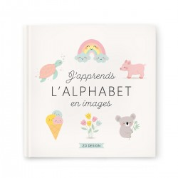 Livre j'apprends l'alphabet...