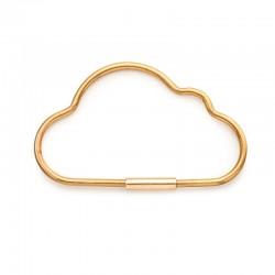 Porte clé nuage