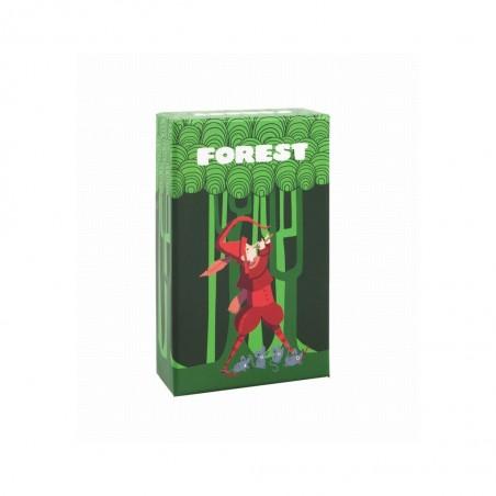 Jeu de cartes forest