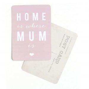 Carte postale cadeau fête des mères